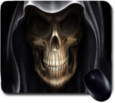 Awwsme Skull With Cap Mousepad