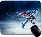Awwsme Messi Hitting The Ball Mousepad (...