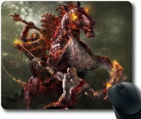 Magic Cases God of war Mousepad(Multicolor)