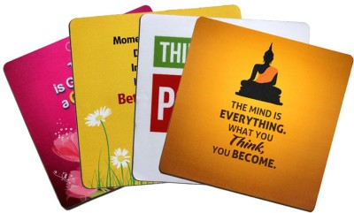 QuoteSutra Affirmation Combo To Inspire You To Think Positive Mousepad