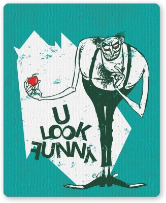 PosterGuy You Look Funny Quirky Gothic Art Music Mousepad