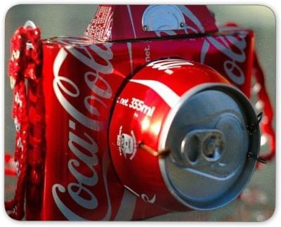 Digiclan Digiclan Red Coca-cola Camera Mouse Pad-SZMP042 Mousepad