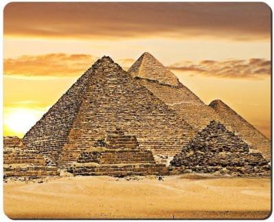 Urban Monk Pyramids of Giza Mousepad