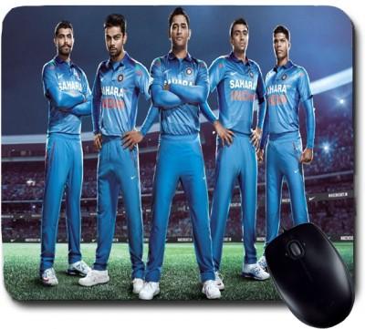 Awwsme Dhoni With His Team Mates Mousepad