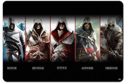 RangeeleShope Assassin,S Creed Altair Ezio Connor Edward Mousepad Mousepad