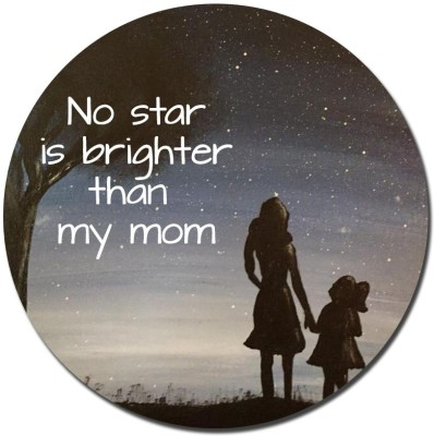 Huppme My Mom Is A Star Mousepad