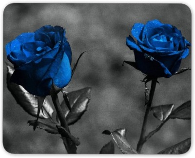 Digiclan Digiclan blue rose Mouse Pad-SZMP091 Mousepad