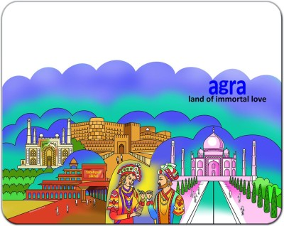 Indiavibes Agra Theme Designer Mousepad
