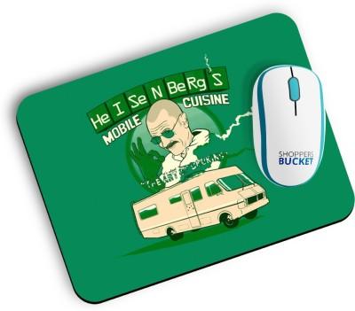 Shoppers Bucket Heisenberg Mousepad Mousepad