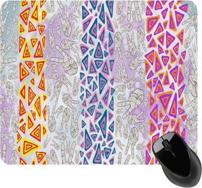 BSEnterprise Three Colorfull Lines Mousepad