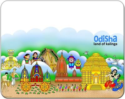 Indiavibes Odisha Theme Designer Mousepad