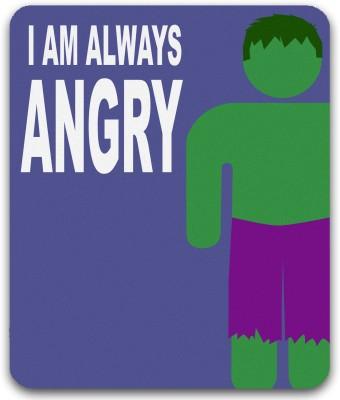 Get Fatang Always Angry Mousepad