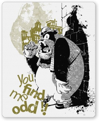 PosterGuy You Find Me Odd !! Funny Graphic Illustration Mousepad