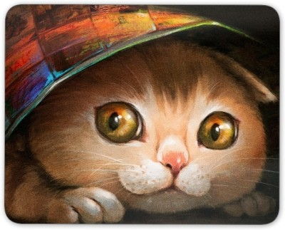 Digiclan Digiclan Multicolor Cat Mouse Pad-SZMP009 Mousepad