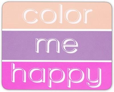 Digiclan Color Me Happy Mouse Pad Mousepad