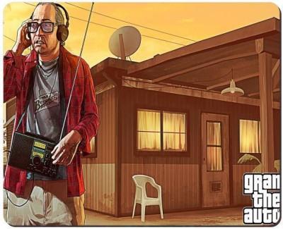 Urban Monk Grand Theft Auto Mousepad