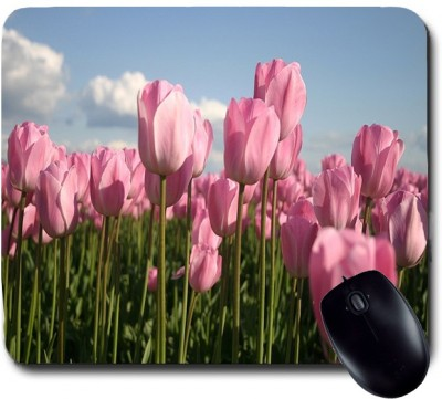Awwsme A Beautiful Collection Of Pink Flowers Mousepad