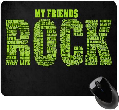 BSEnterprise Friends Rock Mousepad