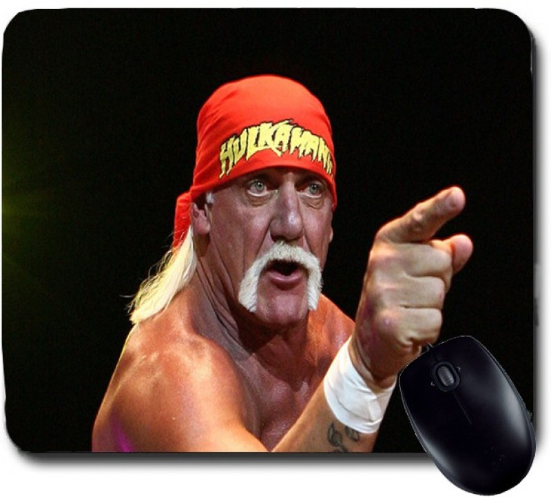 Awwsme Old And Angry Fighter Mousepad(Multicolour)