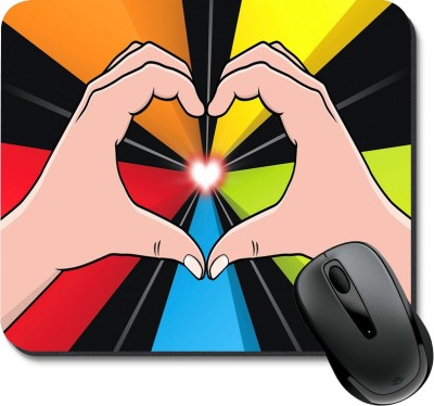 SBBT Love Hand With Love Mousepad