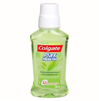 Colgate Plax Mouthwash Fresh Tea - Regular - tea