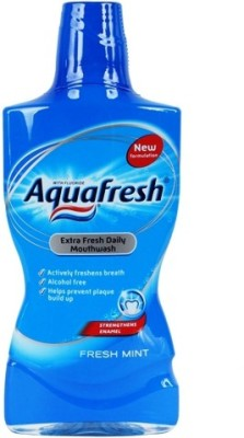Aqua Fresh Daily Mouthwash - Fresh Mint