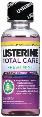 Listerine Total Care Anticavity Mouthwash - Fresh Mint
