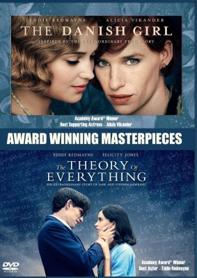 The Danish Girl + The Theory of Everything (Award Winning Masterpieces)