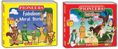 FABULOUS ANIMATED MORAL STORIES VOL 1 AND 2