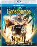 GOOSEBUMPS (3D Blu-ray English)