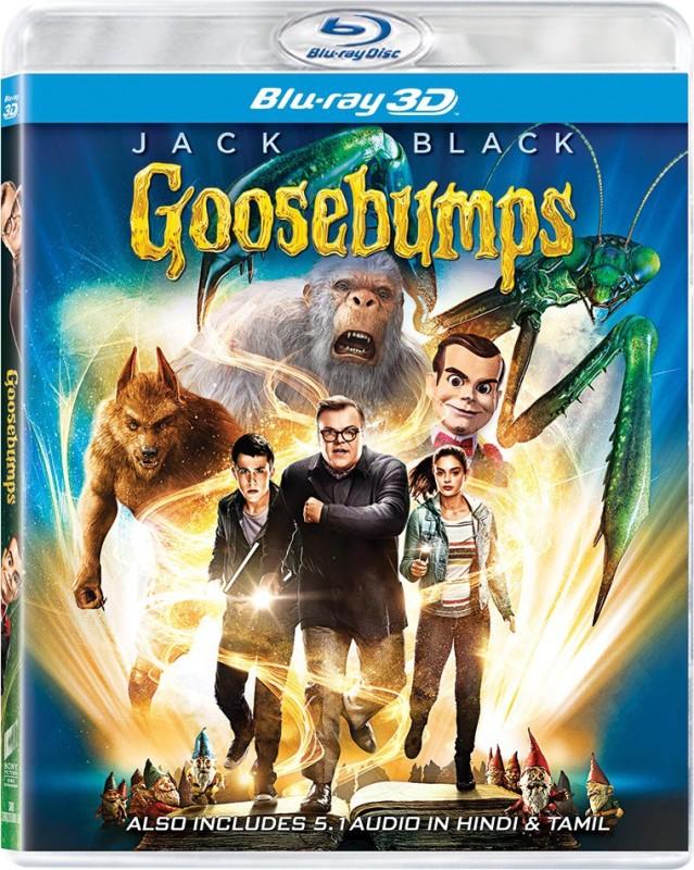 GOOSEBUMPS(3D Blu-ray English)