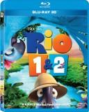 RIO+RIO 2 - 3D BLU RAY SET (3D Blu-ray E...
