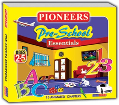 PRE SCHOOL ESSENTIALS(VCD English)