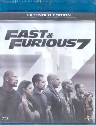 Fast & Furious 7(Blu-ray English)