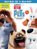 The Secret Life of Pets (3D) (3D Blu-ray...