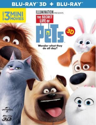 The Secret Life of Pets (3D)(3D Blu-ray English)