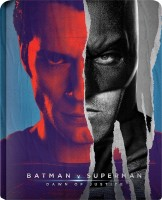 Batman V Superman: Dawn of Justice - 3D BD Steel Book(3D Blu-ray English)