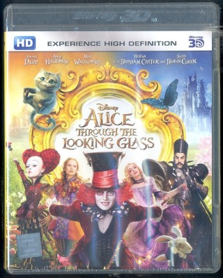 Alice Through the Looking Glass - 3D BD(3D Blu-ray English)