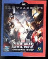 Captain America: Civil War - 3D BD(3D Blu-ray English)