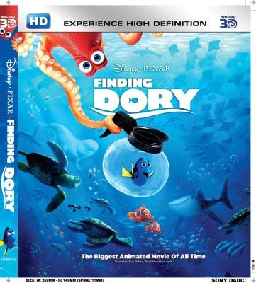 Finding dory(3D Blu-ray English)