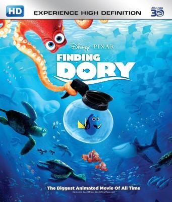Finding Dory 3D BD(3D Blu-ray English)