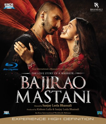 BAJIRAO MASTANI(Blu-ray Hindi)