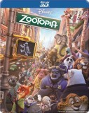 Zootopia - 3D BD Steelbook (3D Blu-ray E...