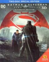 Batman V Superman: Dawn of Justice(3D Blu-ray English)