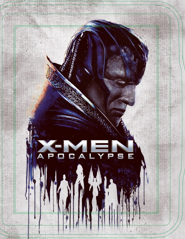 X-Men: Apocalypse (Steelbook) (3D+BD)(Blu-ray English)