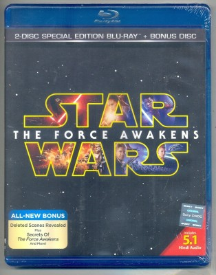 Star Wars: The Force Awakens(Blu-ray English)