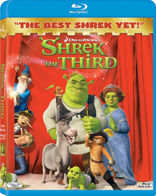 SHREK THE THIRD(Blu-ray English)