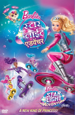 Barbie in a Starlight Adventure(DVD Hindi)
