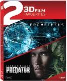 PREDATOR (3D)+PROMETHEUS (3D) (3D Blu-ra...