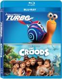 TURBO / CROODS BLU RAY SET (Blu-ray Engl...